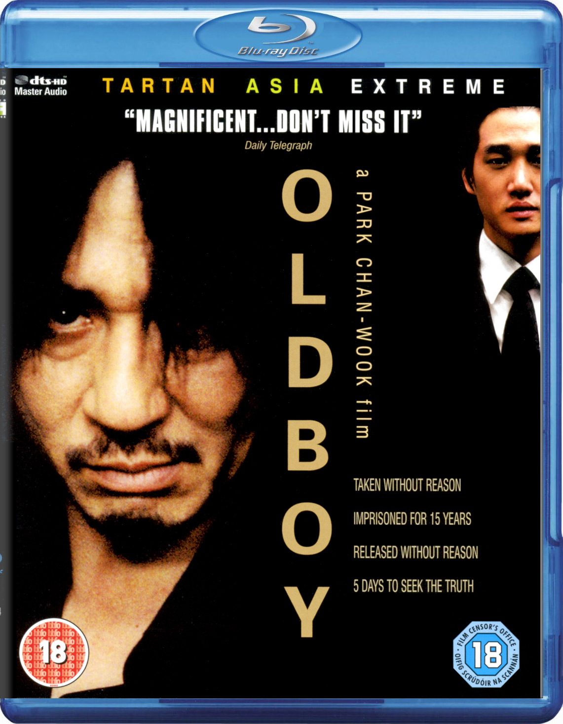 Oldboy (2003) 720p BrRip x264 Triple audio (English+Hindi+Korean